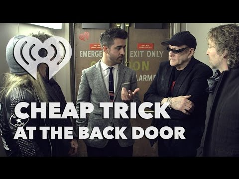 Cheap Trick - Backstage Interview | At The Backdoor