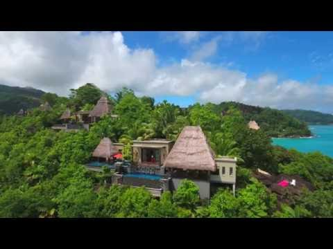 Seychelles 2016, Luxury MAIA Resort and Spa - DJI Phantom 4 Drone