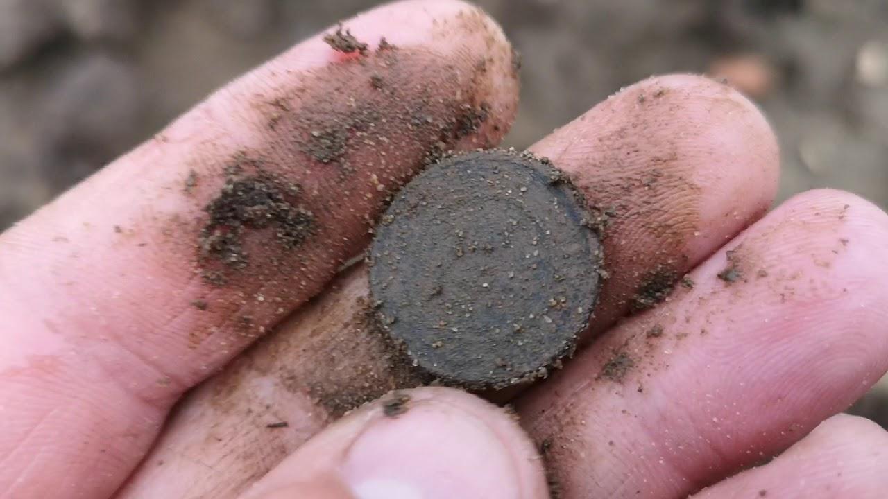 Серебряные монеты валяются около магазина IKEA.