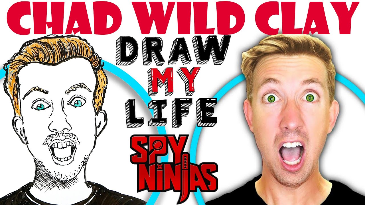 Chad Wild Clay : Draw My Life