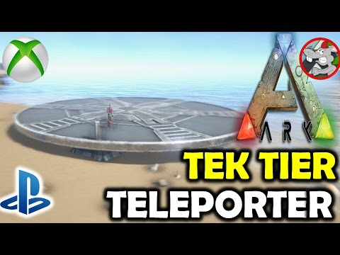 Ark how to use and spawn tek tier teleporter youtube ark how to use and spawn tek tier teleporter malvernweather Gallery
