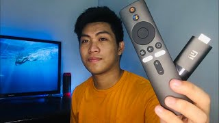 Xiaomi Mi TV Stick Unboxing + Set Up, Cheapest Android TV Stick!( Tagalog )
