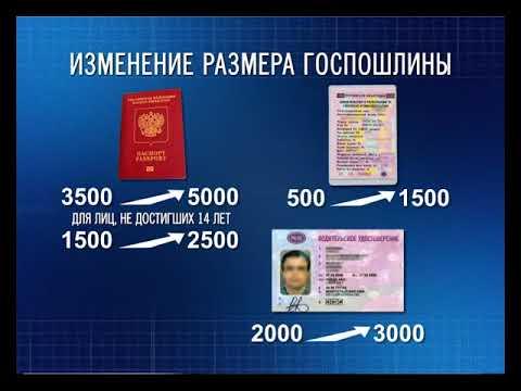 В России увеличили размер госпошлины