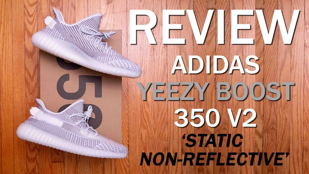 bfa1285470f adidas Yeezy Boost 350 V2  Static Non-Reflective  Review and On Feet ...