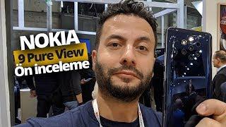 MASRAFTAN KAÇMAMIŞ 😅 Nokia 9 PureView ön inceleme: 5 kameralı telefon!