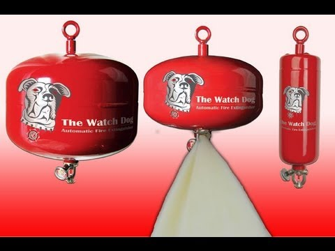 Watchdog Automatic Fire Extinguisher Youtube