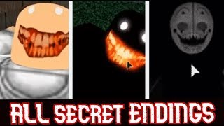 ROBLOX All Secret Endings (Camping 1, Camping 2, Hotel)