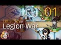 Legion War ~ 01 A Great Simple War Game