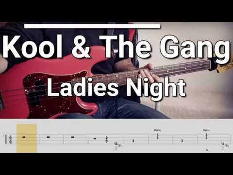 Kool & The Gang - Ladies Night (Bass Cover) Tabs