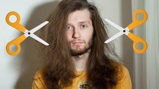 Мужская стрижка длинных волос Top Knot Stop Motion(, 2015-03-09T13:39:37.000Z)