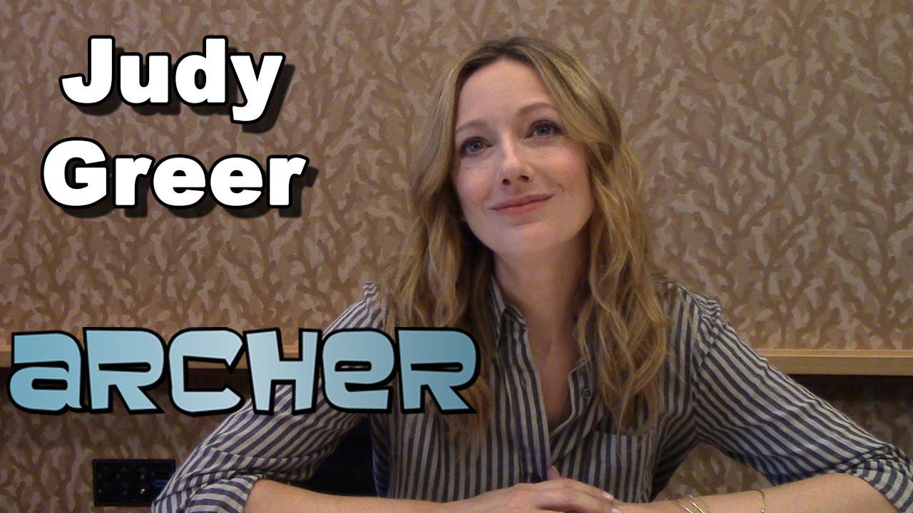 Archer Season 6 - Judy Greer Interview - Comic-Con 2014