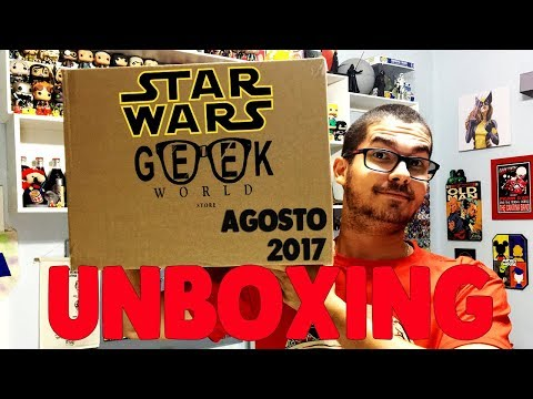 UNBOXING WORLD IN BOX STAR WARS AGOSTO 2017