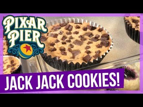 Jack-Jack Cookie Num Num on Pixar Pier!   VEDID