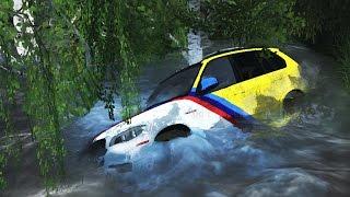 ШОК! В РЕКЕ НАШЛИ УТОПЛЕННЫЙ ЗОЛОТОЙ BMW X5