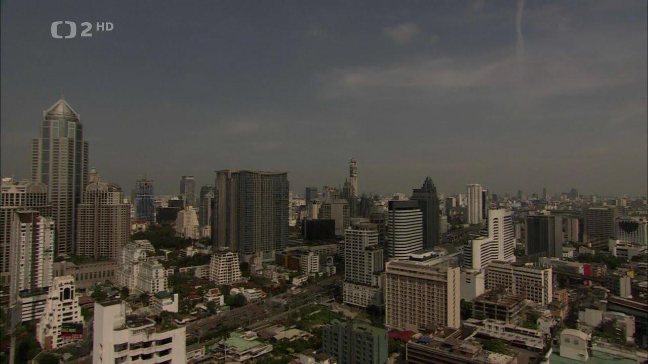 Extrémní města - Bangkok Dokument HD CZdab