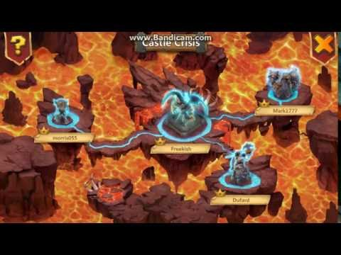 Castle Clash Archdemon Stun+huge Dmg Atlanticore Method