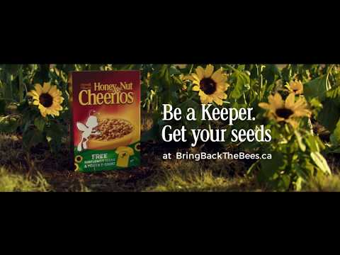 Honey Nut Cheerios:  Be A Keeper. Bring Back The Bees.