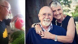 Жена пригрозила ему перед смертью поливать цветы, лишь через 5 лет он узнал страшную правду!