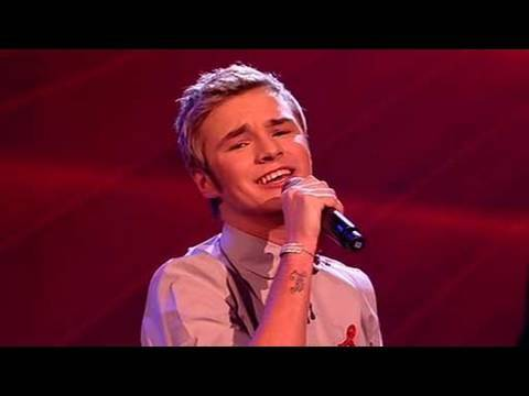 The X Factor 2009 - Lloyd Daniels: A Million Love Songs - Live Show 8 (itv.com/xfactor)