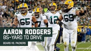 Aaron Rodgers Leads an 85-Yard TD Drive! | Bears vs. Packers | NFL