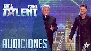 Padre e hijo, un gran dueto tenor | Audiciones 5 | Got Talen...