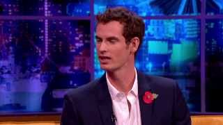 Jonathan Talks Drugs With Andy Murray - The Jonathan Ross Show
