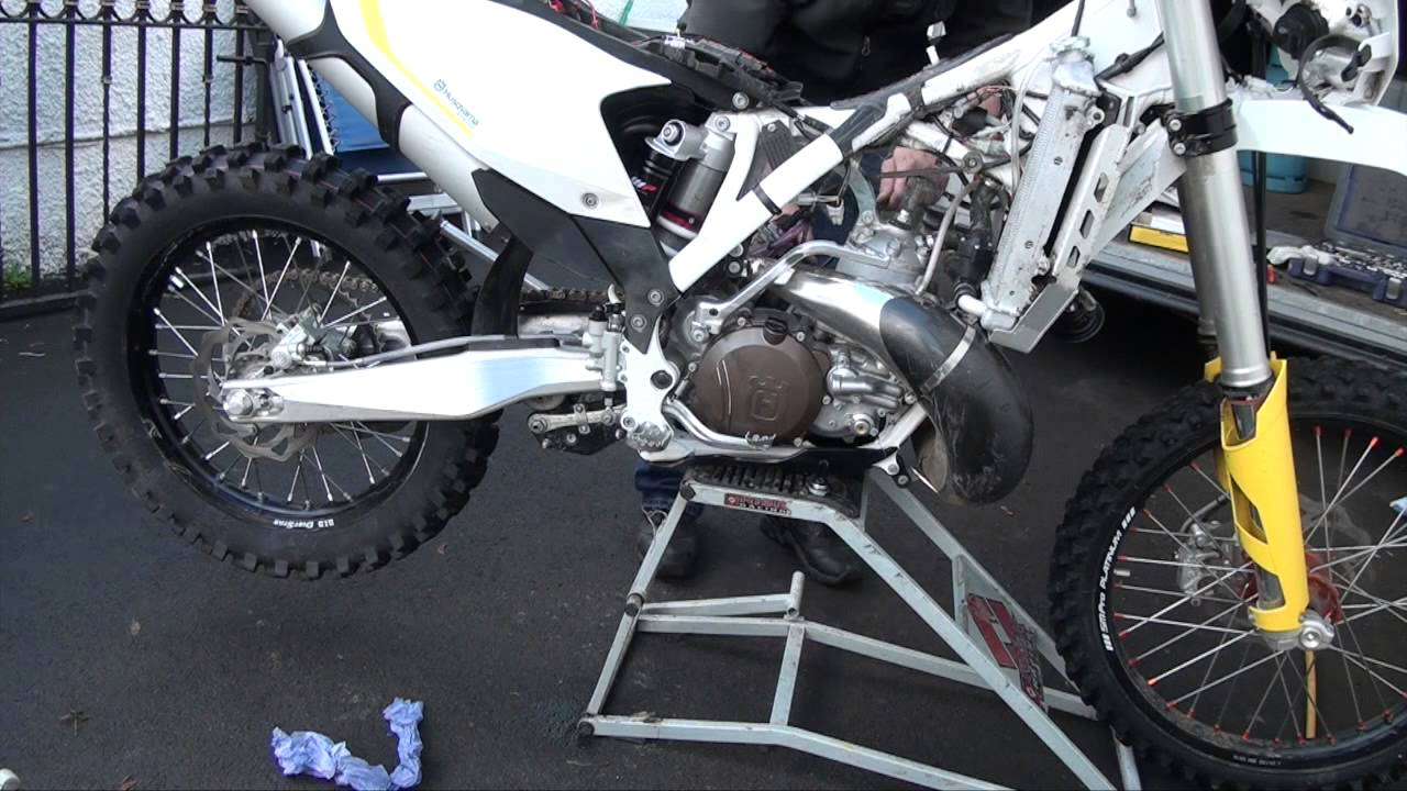 rekluse left hand brake kit setup