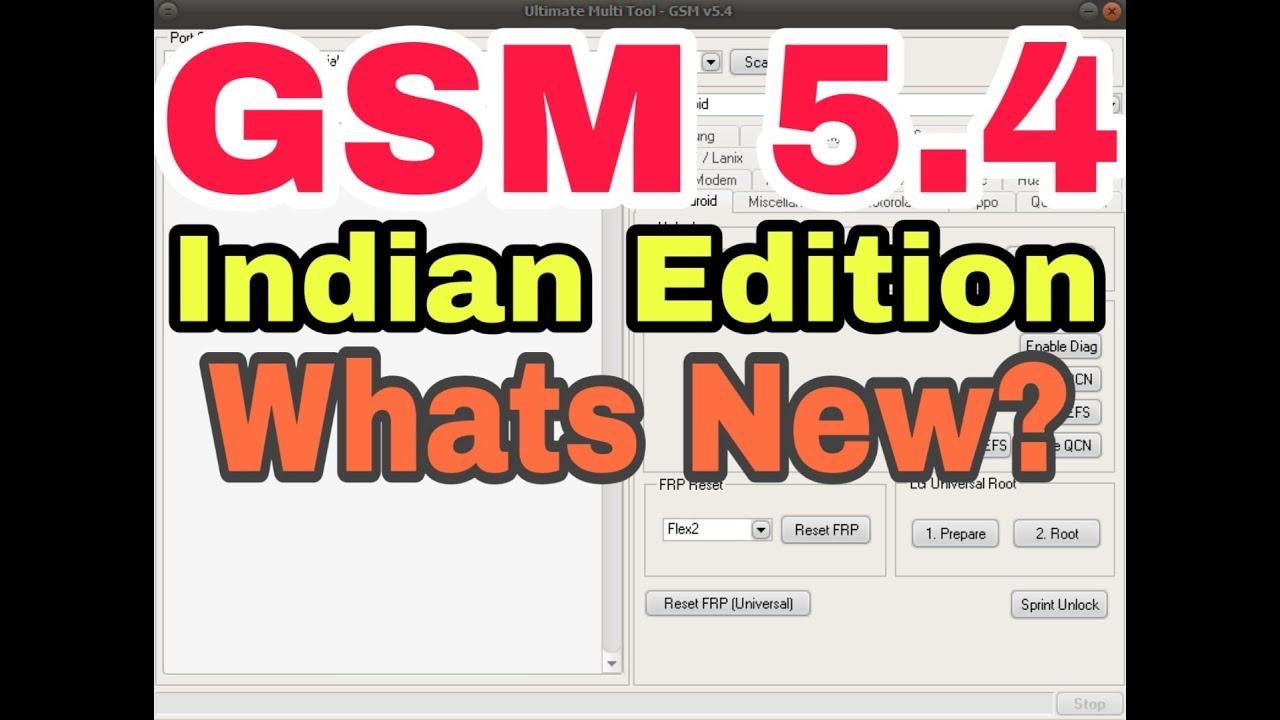 Ultimate Multi Tool - GSM v5 4 Latest Indian Edition Whats New