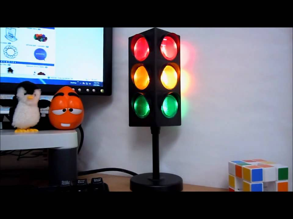 Desktop Traffic Light Youtube