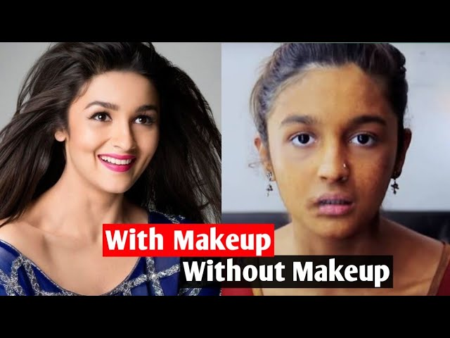 Bollywood Actress Without Makeup Deepika Padukone Alia Bhatt