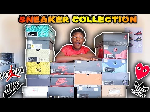 MY SNEAKER COLLECTION🔥🔥🔥(2018) | TheLifeOfCashK