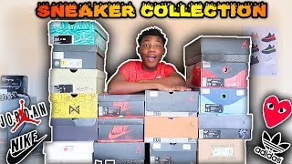 MY SNEAKER COLLECTION🔥🔥🔥(2018)   TheLifeOfCashK