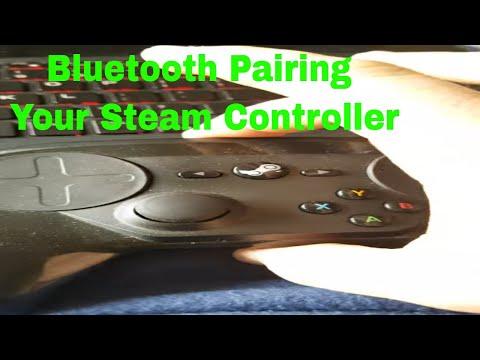 Pairing A Steam Controller Using Bluetooth Way.