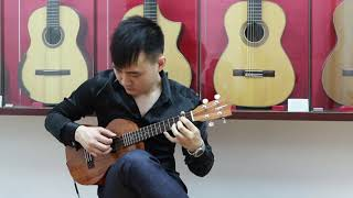 "Lovin' You - Minnie Riperton ""Ukulele Cover""(Steven Law)"