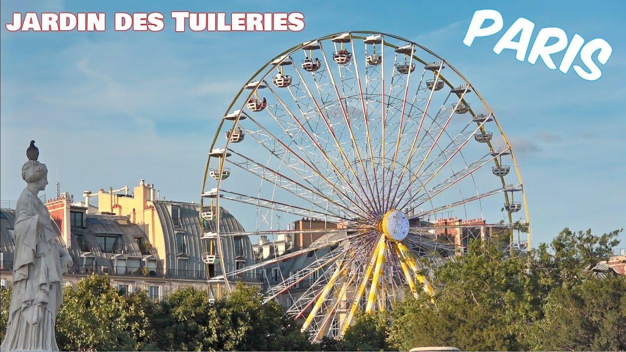 fte foraine jardins des tuileries tuileries garden grande roue paname paris france - Jardins Des Tuileries