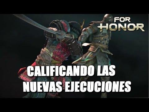 For Honor Español | CALIFICANDO LAS NUEVAS EJECUCIONES