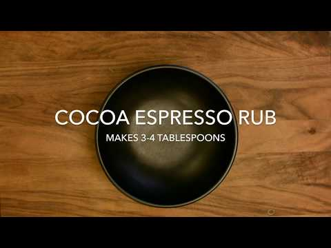 How to Make a Spice Blend - Cocoa Espresso Rub