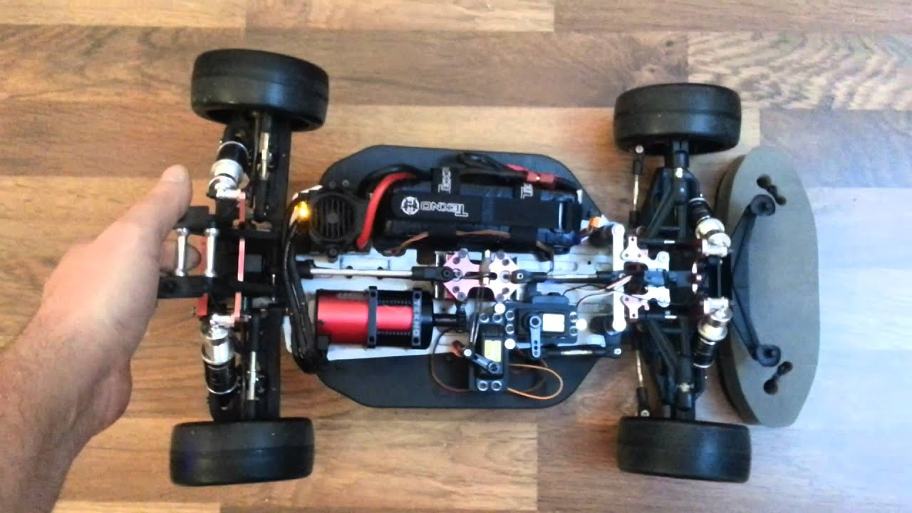 Rc Car Gyro Test Tt Eb4 S2 Pro Brushless Youtube