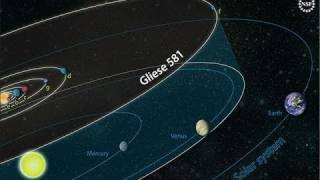Gliese 581g:  First Earth-sized planet discovered around a star