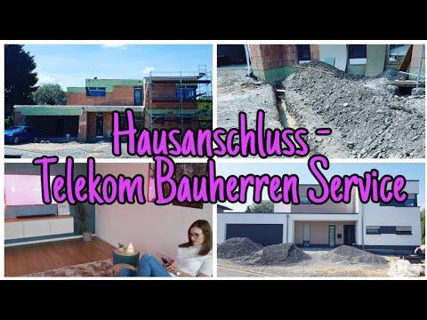hausanschl sse im haus telekom bauherren service die siwuchins youtube. Black Bedroom Furniture Sets. Home Design Ideas