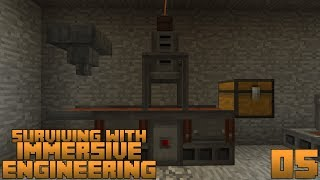 Surviving With Immersive Engineering 1.12 :: E05 - Metal Press