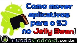 Como mover aplicativo para o cartão sd no seu Jelly Bean, GL TO SD, Galaxy Grand Duos e Outros.