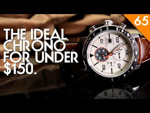 Citizen Brycen CA0649-06X Eco-Drive Watch Review - Best Chronograph Under $150