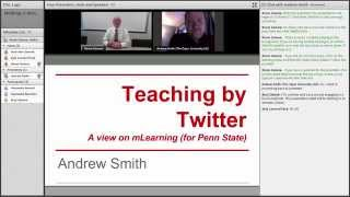 Teaching by Twitter...aview on mLearning - A conversation with Andrew Smith Thumbnail