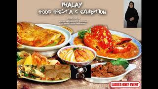 Malay Food Fiesta & Exhibition - Organized by Puttalam Malay Association