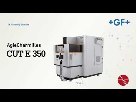 EDM Power your performance AgieCharmilles CUT E 350 - YouTube