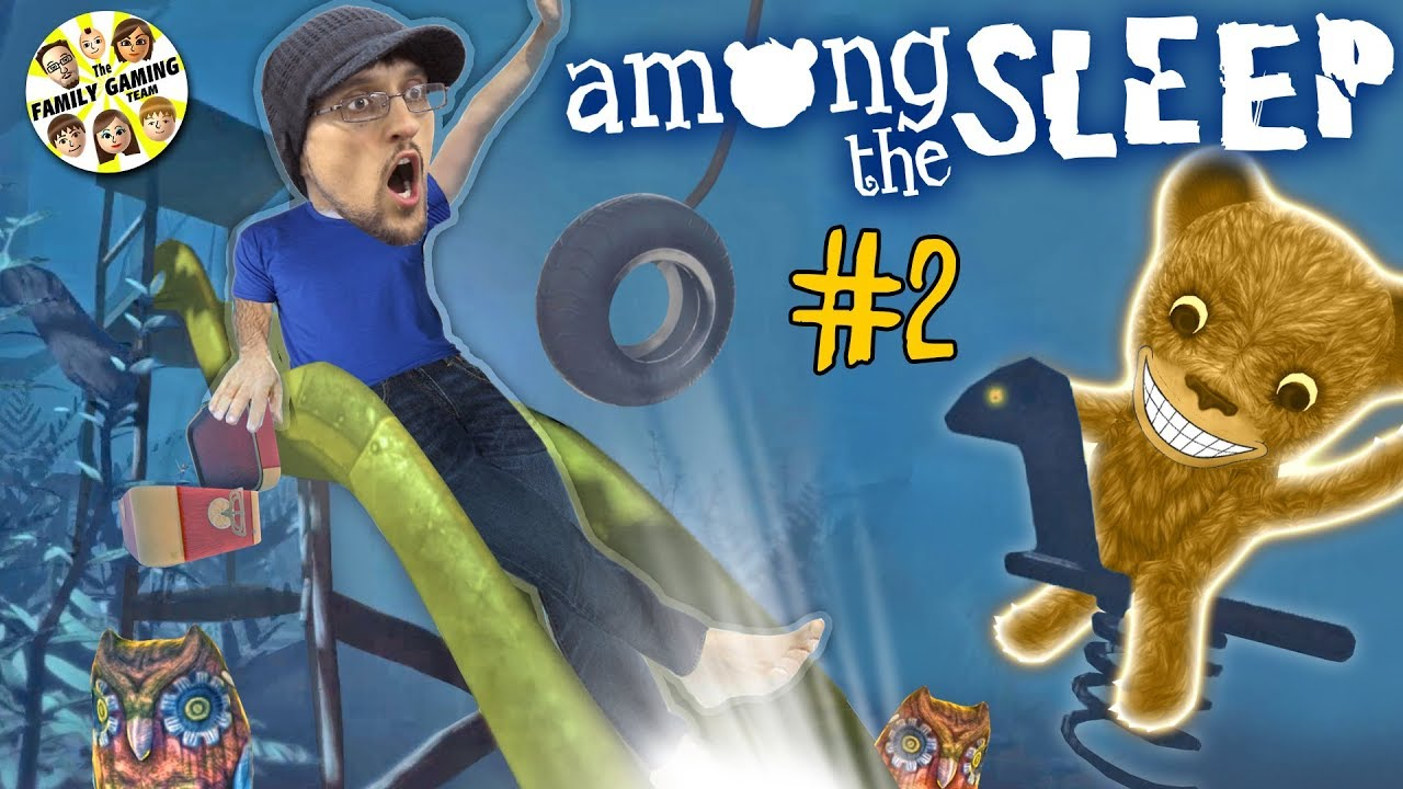 AMONG THE SLEEP! The Magic Slide on the Spooky Playground!(FGTEEV Chapter 2 Bendy & the Ink Machine)