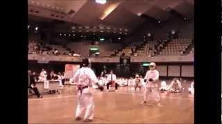 空手 伝統派空手 vs 極真空手(伝統派勝利) Kyokushin vs Traditional Karate 2
