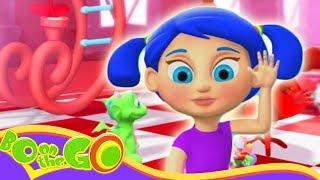 Bo En el IR! - Bo y el Rojo color de Rosa | Divertidos dibujos animados para los Niños