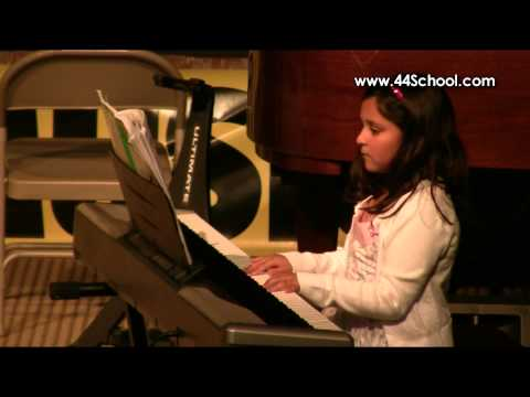 Sanya K 44 School of Music Fall 2012 Concert Piano Lessons